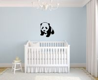 Panda Cub Wall Decal